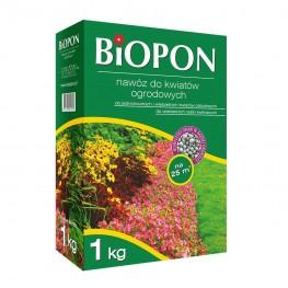 Biopon - granulowany nawóz do kwiatów ogrodowych 1 kg