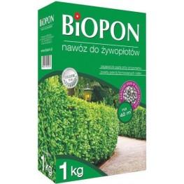 Biopon - granulowany nawóz do żywopłotu 1 kg
