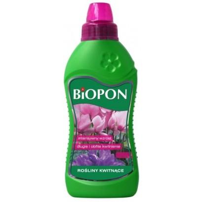 Biopon nawóz w płynie do roślin kwitnących 1000ml