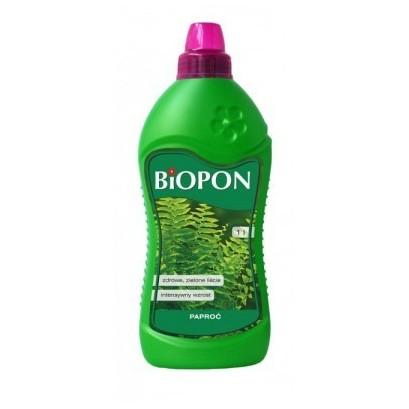 Biopon nawóz mineralny do paproci 1000ml