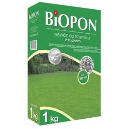 Biopon - granulowany nawóz do trawnika z mchem 1 kg