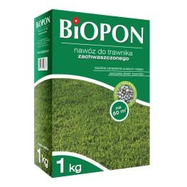 Biopon - granulowany nawóz do trawnika zachwaszczonego 1 kg