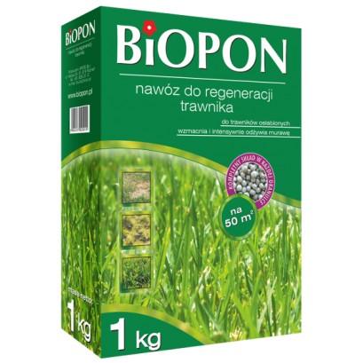 Biopon - granulowany nawóz do regeneracji trawnika 1 kg