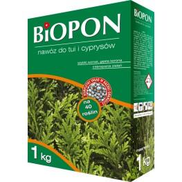 Biopon - granulowany nawózw do tuji i cyprysów 1 kg