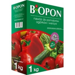 Biopon - granulowany nawóz do pomidorów, ogórków i warzyw 1 kg