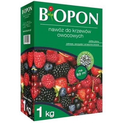 Biopon - granulowany nawóz do krzewów owocowych 1 kg
