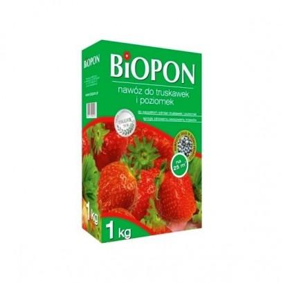 Biopon - granulowany nawóz do truskawek i poziomek 1 kg