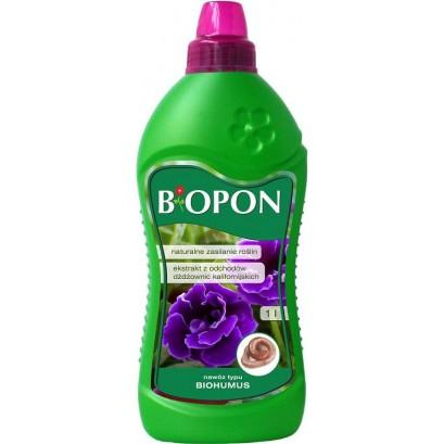 BIOPON - płynny nawóz typu Biohumus 1l